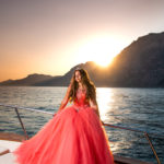 Fashion Shooting Quinceanera Positano Vito Fusco Yacht Photography